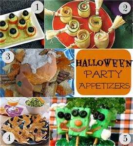 Halloween Party Appetizer Recipes