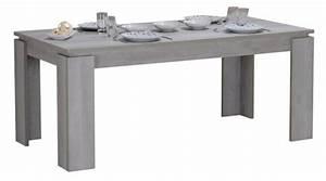 Table Extensible Grise : table de s jour extensible grise kayen 180 260 cm ~ Teatrodelosmanantiales.com Idées de Décoration
