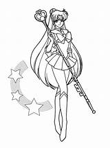 Coloring Pages Sailormoon Sailor Moon Tuxedo Mask sketch template