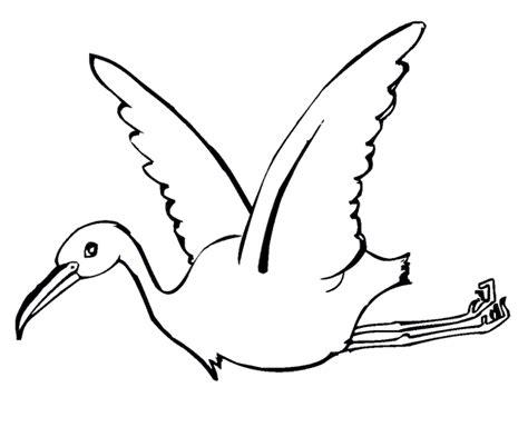 Stork Coloring Pages Eskayalitim
