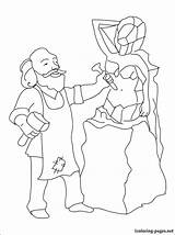 Sculptor Coloring Pages Printable Career Fans sketch template