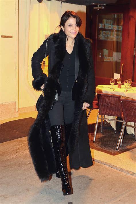 bethenny frankel  cipriani leather celebrities