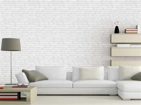 canape d angle moderne le papier peint confirme sa tendance déco
