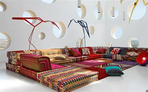 canapes originaux le canapé design revisité par roche bobois