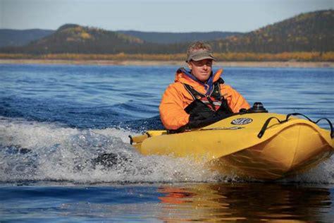 Mokai Boat by Wordlesstech Mokai Motorized Kayak In