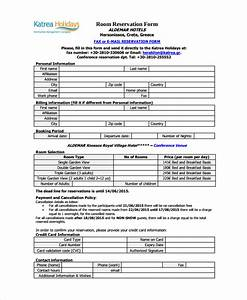 image gallery reservation forms With conference room reservation template