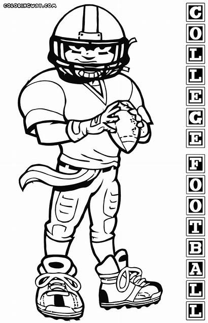 Coloring Football College