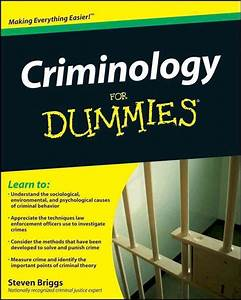 Are There Any Good Criminology Books For Someone
