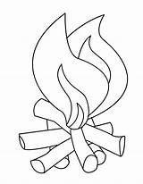 Coloring Flames Fire Pages Printable Flame Clipart Line Drawing Safety Campfire Camp Outline Number Template 1229 Colouring Sheet Fireplace Clip sketch template