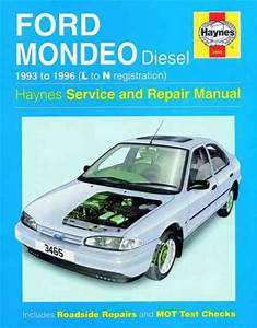 Ford Mondeo Diesel 1993 1996 Haynes Service Repair Manual