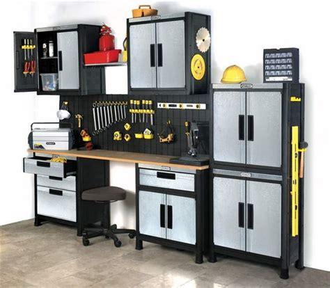 Stanley Garage by Stanley Tools Introduces Garage Workshop Storage System