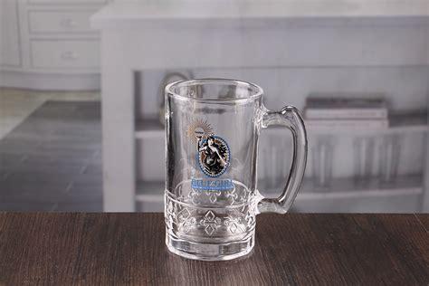 custom printed beer glasses  oz bar beer vessels cheap