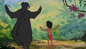 Image  Mowgli and Baloo the bear are both danceing jpg Jungle Book Wiki Fandom powered by Wikia
