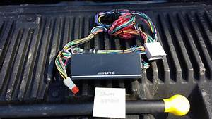 Fs  Alpine Ktp-445 Amp With Wiring Harness