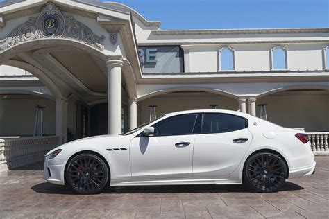 slammed maserati ghibli re in car nated