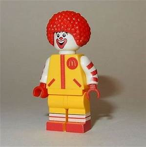 **new** Lego Custom Printed Ronald Mcdonald Minifigure ...