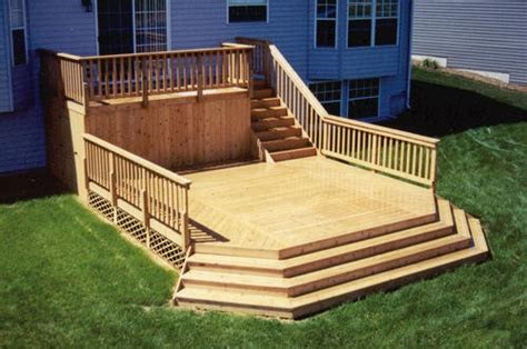 Two Tier Deck Plans