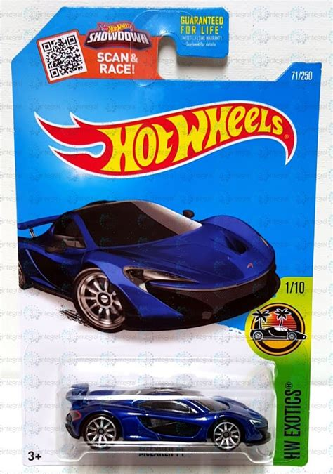 hot wheels hw exotics mclaren p
