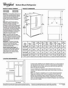Whirlpool Wrf535smbm User Manual