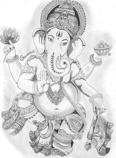 Lord Ganesha Colouring Pages | Adult Colouring~Elephants~Zentangles | Pinterest | Lord ganesha