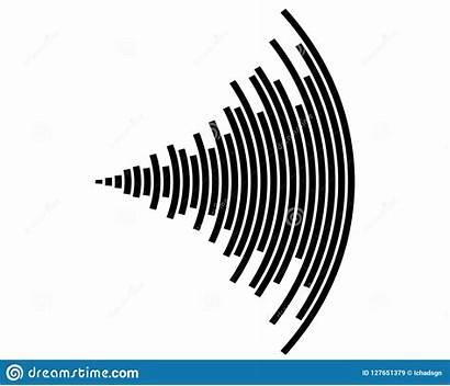 Sound Wave Icon Vector Illustration