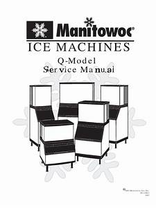 Manitowoc Ice Makers Service Manual