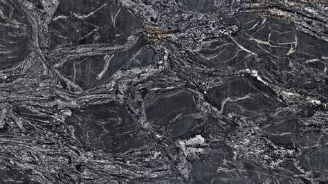notturno gold black granite with white veins for countertops
