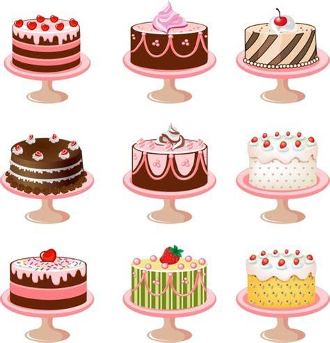 wedding anniversary cake  vector