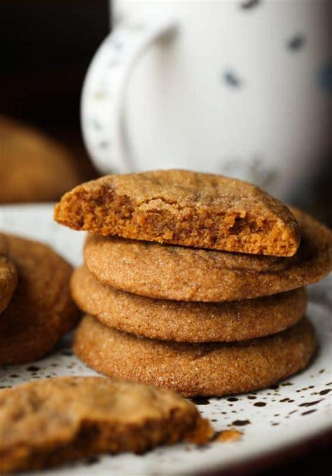 soft molasses cookies holiday baking christmas cookies