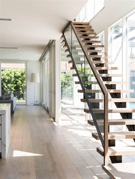 glass stair banisters best 25 glass stair railing ideas on glass