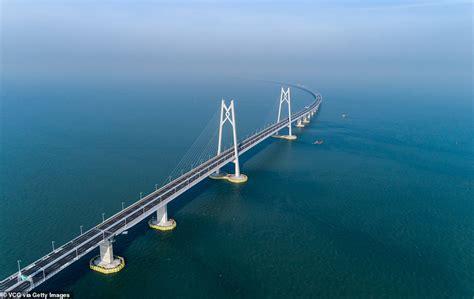 hong kong macau bridge hong kong zhuhai macau bridge world s sea