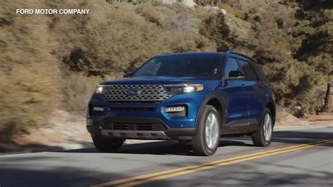 2020 Ford Explorer Unveiled; Newest Version Of 'world's