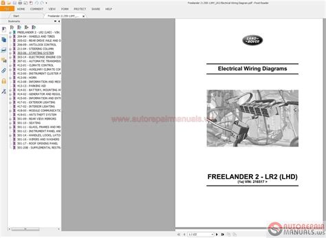 freelander wiring diagram pdf efcaviation