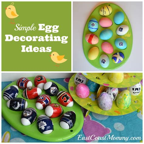 easy easter egg decorating east coast mommy simple easter egg decorating ideas