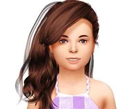 CC Hair Sims 4 Kids