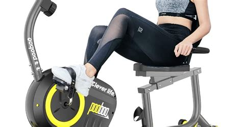 Pooboo D525 Indoor Exercise Bike | Exercise Bike Reviews 101