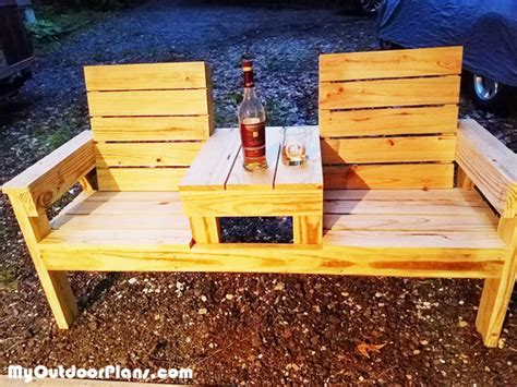 diy wood bench myoutdoorplans  woodworking plans  projects diy shed wooden