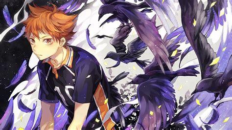 shoyo hinata haikyuu crows   wallpaper