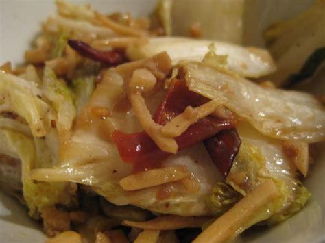 comment cuisiner chou chinois choux chinois à la chinoise au bout du monde