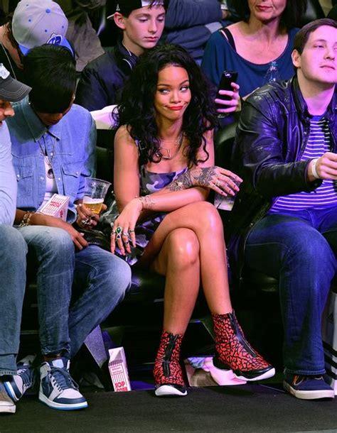 times celebrities   blast sitting courtside