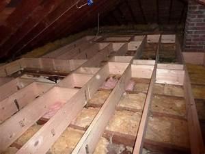 Raise Attic Floor Over Wires With 2x2s