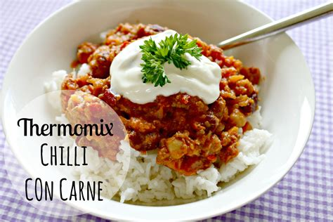 thermom鑼re cuisine thermomix chilli con carne recipe