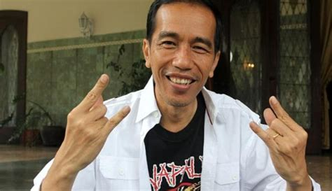 unknown beauty joko widodo   mayor  indonesia