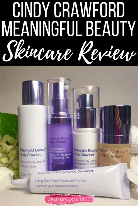 meaningful beauty skincare system review cremes  true