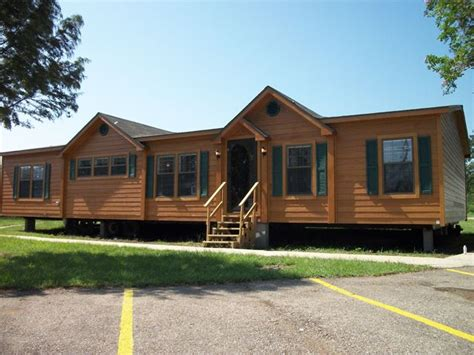 pin  audree williams  cabin   double wide home mobile home doublewide mobile home