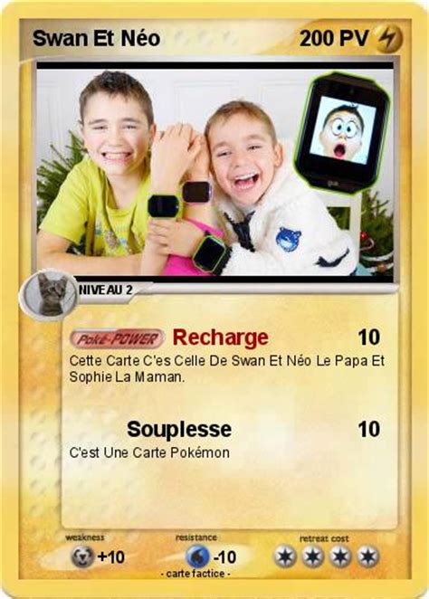 pokemon swan  neo   recharge ma carte pokemon