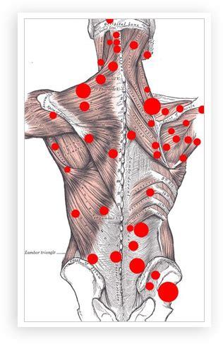 Muskeltiefenbehandlung in der Schulter, Rücken und Beinen