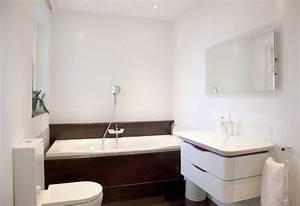 petite salle de bains 45 idees inspirantes pour votre With idee salle de bain petit espace
