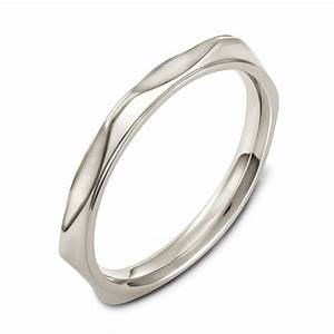 men39s 18k white gold band 393 With mens wedding rings 18k white gold