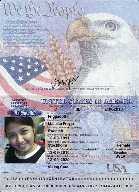 fake passport templates   passport template